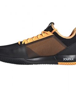 Zapatillas Adidas Adizero Defiant Bounce 2 Negras-Naranjas 2019