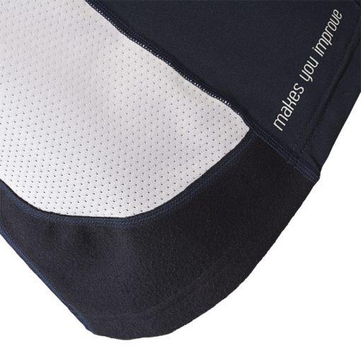 Camiseta Nox Meta Aniversario Azul Detalle