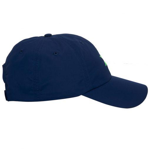 Gorra Nox Azul Logo Verde 20