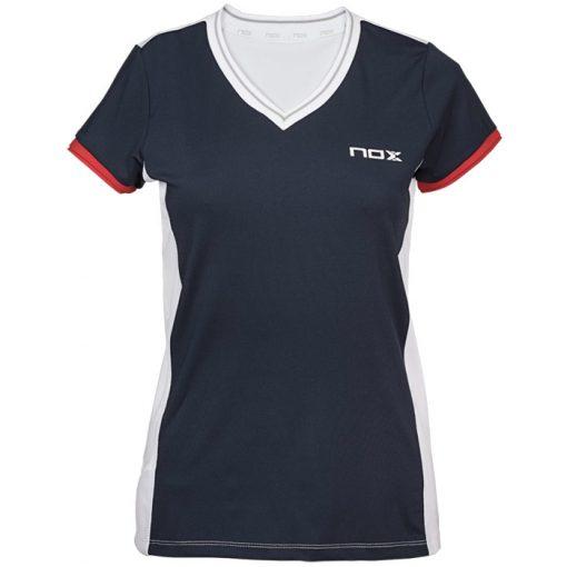 Camiseta Nox Meta Azul Mujer