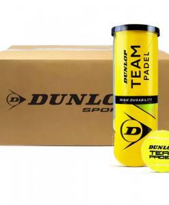 Cajón pelotas Dunlop Team Padel