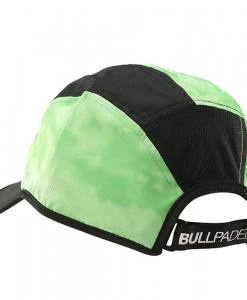 Gorra Bullpadel Verde Master Series atrás