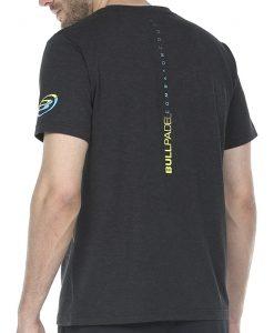 Camiseta Bullpadel Rasem Negra 2020