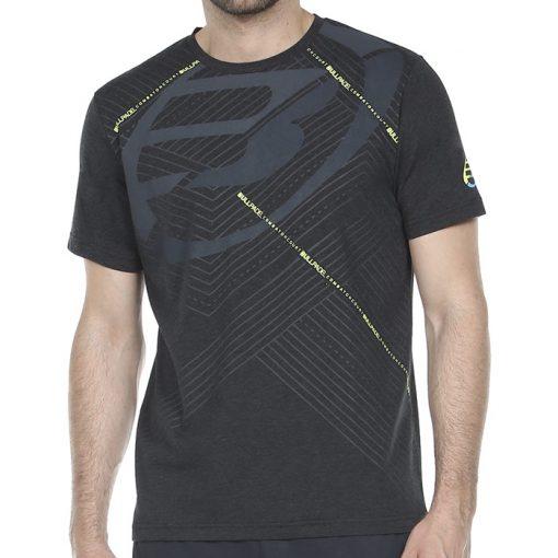 Camiseta Bullpadel Rasem Negra