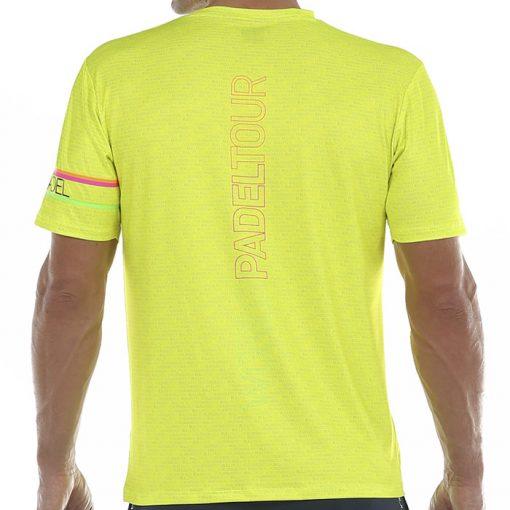 Camiseta Bullpadel Salbur Amarilla 20