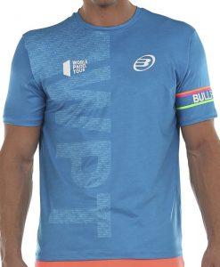 Camiseta Bullpadel Salbur Azul