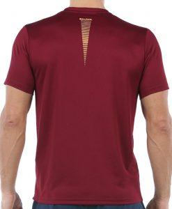 Camiseta Bullpadel Cenegui Vino Burdeos 20