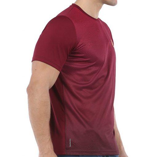 Camiseta Bullpadel Cenegui Vino Burdeos 2020