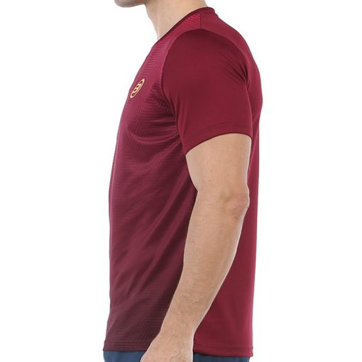 Camiseta Bullpadel Cenegui Vino Burdeos