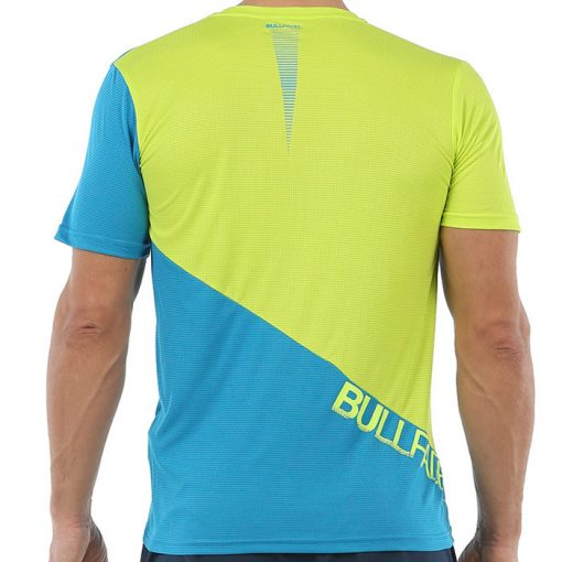 Camiseta Bullpadel Chamois Azul-Lima 2020