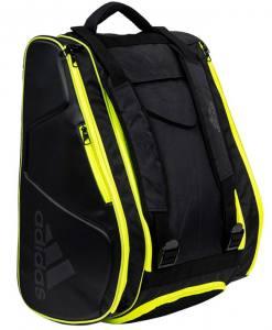 Paletero Adidas Pro Tour negro-lima