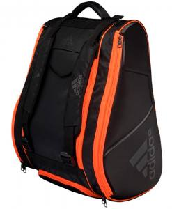 Paletero Adidas Pro Tour negro-naranja 2020
