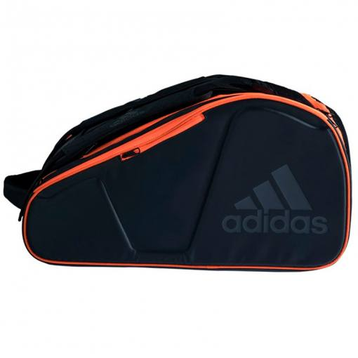 Paletero Adidas Pro Tour negro-naranja