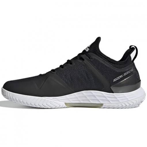 Zapatillas Adidas Adizero Ubersonic 4 Negras y Blancas