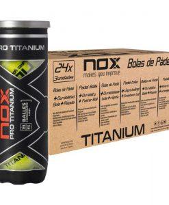 Cajón 24 Botes Pelotas NOX Pro Titanium
