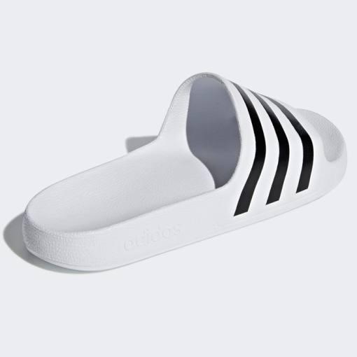 Chanclas Adidas Adilette Aqua Blancas-Negras