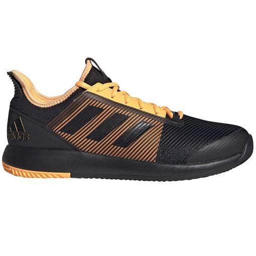 Zapatillas Adidas Adizero Defiant Bounce 2 Negras-Naranjas
