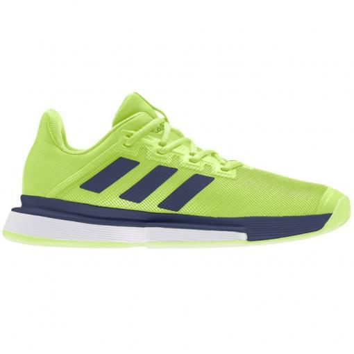 Zapatillas Adidas Solematch Bounce Verde-Azul