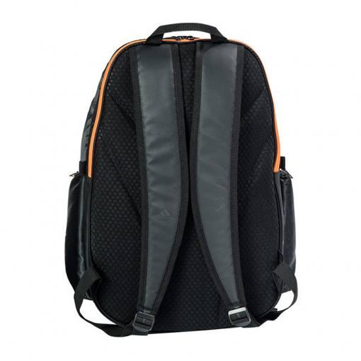 Mochila Adidas Protour 2.0 orange back