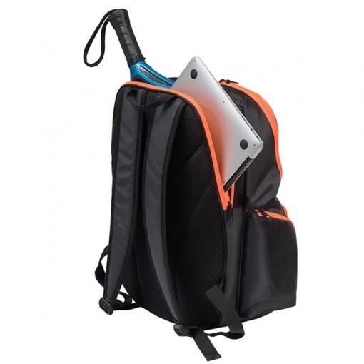 Mochila Adidas Protour 2.0 orange back con pala