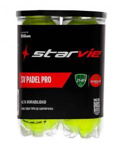 Bipack de pelotas Starvie Padel Pro