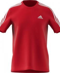 Camiseta Adidas 3 bandas Scarlet