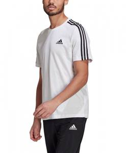 Camiseta Adidas 3 bandas blanca 2021