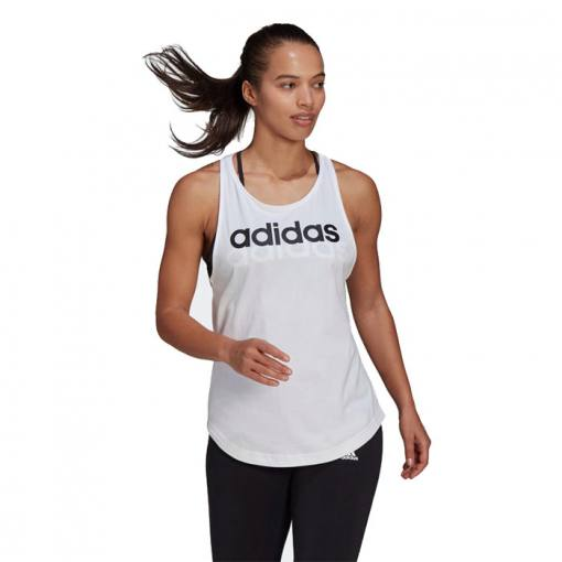 Camiseta Adidas Loungewear blanco 2021