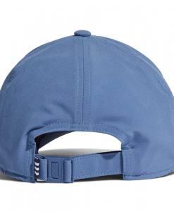 Gorra Adidas Baseball Aeroready 3 bandas azul 21