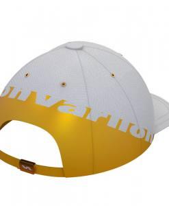 Gorra Varlion Ambassadors blanco y dorado 2021