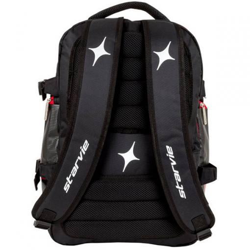 Espalda acolchada mochila StarVie Red Line