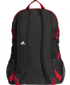 Mochila Adidas Power Roja, blanco y negro