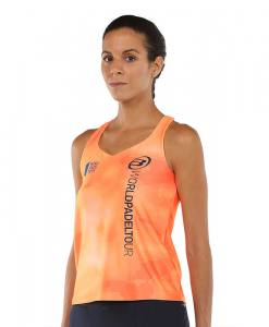 Camiseta Bullpadel Yari Naranja