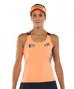 Camiseta Bullpadel Yali Naranja flúor 21