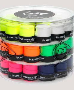 Tambor Dunlop 60 overgrips Tour Pro colores