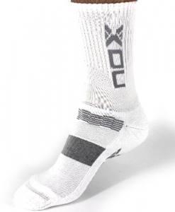 Calcetines Nox Blanco-Gris