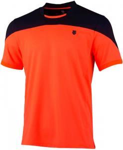 Camiseta KSwiss Hypercourt naranja 2021