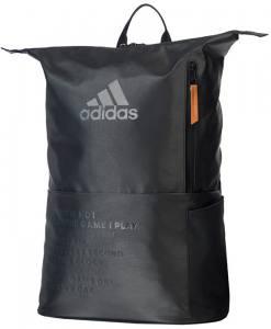Mochila Adidas Multigame Negra Frente