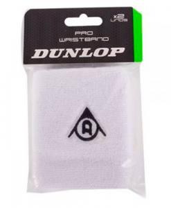 Muñequeras Dunlop Pro blanco