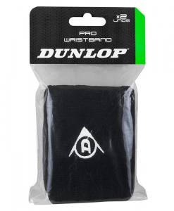 Muñequeras Dunlop Pro Negro