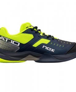 Zapatillas NOX AT10 Azules-Verdes Lima