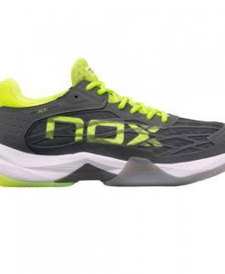 Zapatillas NOX AT10 Lux Grises-Amarillas