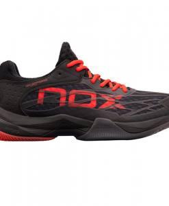 Zapatillas NOX AT10 Lux Negras-Rojas
