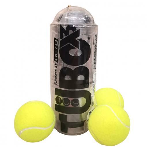 TuboPlus 3 pelotas cristal