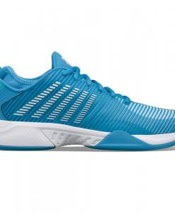 zapatillas k-swiss hypercourt supreme azules y blancas