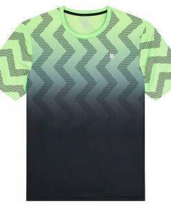 camiseta kswiss hyperocurt print verde degradado