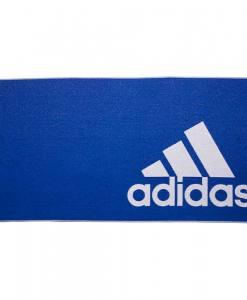 toalla adidas grande azul entera