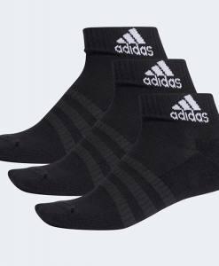 Calcetines Adidas Negros Tobilleros-Pack 3