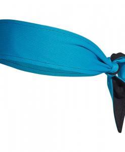 cinta adidas aeroready negro azul reversible