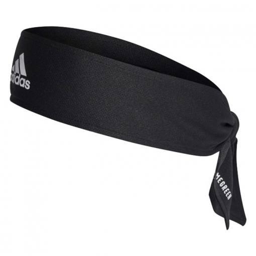 cinta de pelo adidas negra